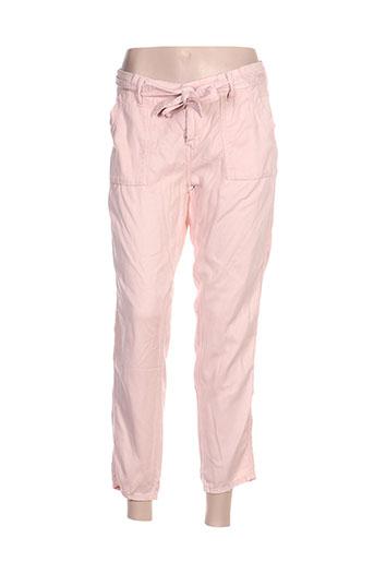 pepe jeans pantalons femme de couleur rose