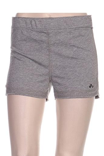 only shorts / bermudas femme de couleur gris