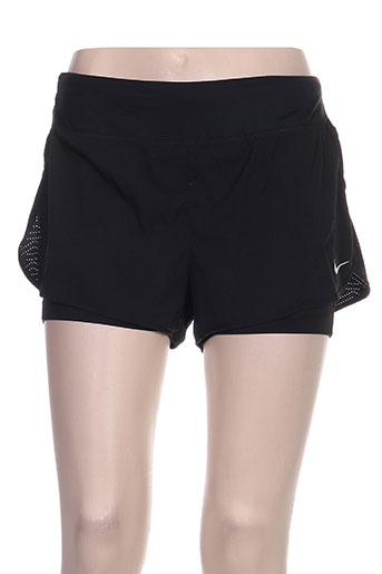 nike shorts / bermudas femme de couleur noir