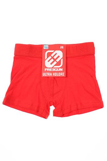 freegun lingerie garçon de couleur rouge