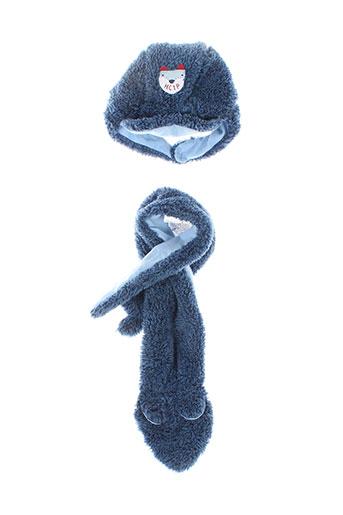 Bonnet bleu 3 POMMES pour garçon