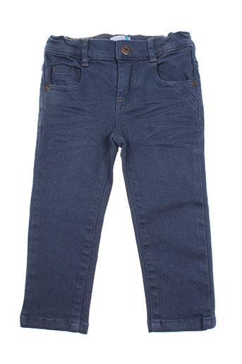 absorba pantalons garçon de couleur bleu