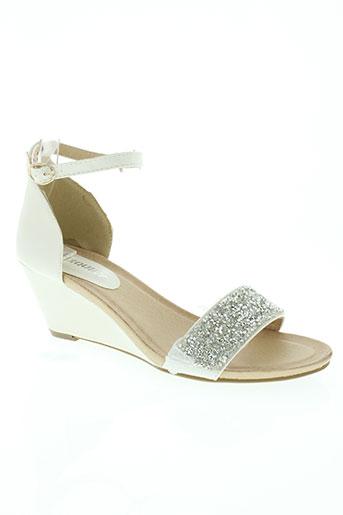 exquily chaussures femme de couleur beige