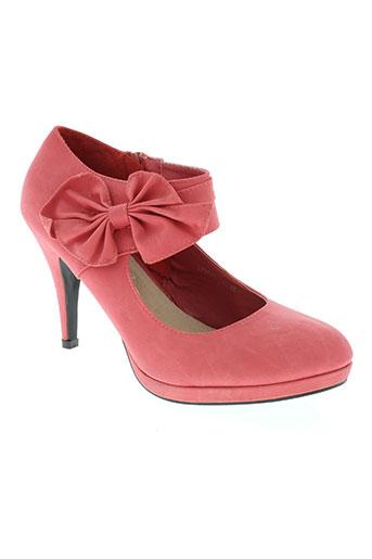 o'moda chaussures femme de couleur rose