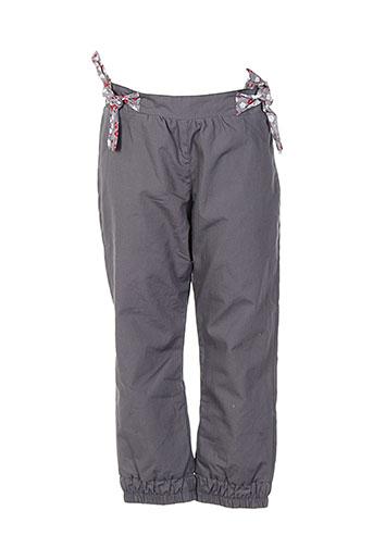 bulle de bb pantalons fille de couleur gris