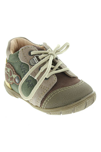 noël chaussures garçon de couleur vert