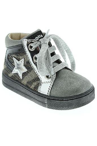 falcotto chaussures fille de couleur gris