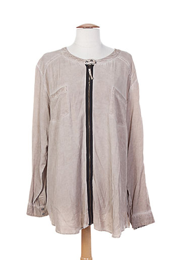 top secret chemises femme de couleur beige