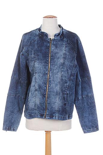 top secret vestes femme de couleur bleu