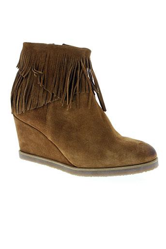 weekend chaussures femme de couleur marron