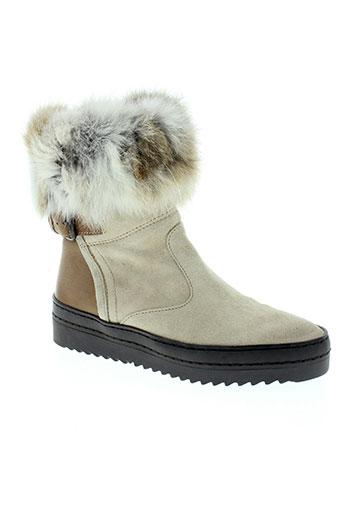 manas chaussures femme de couleur beige