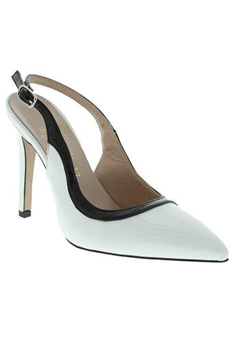 mercante di fiori chaussures femme de couleur blanc