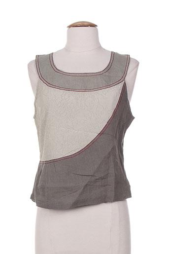 zelti chemises femme de couleur gris
