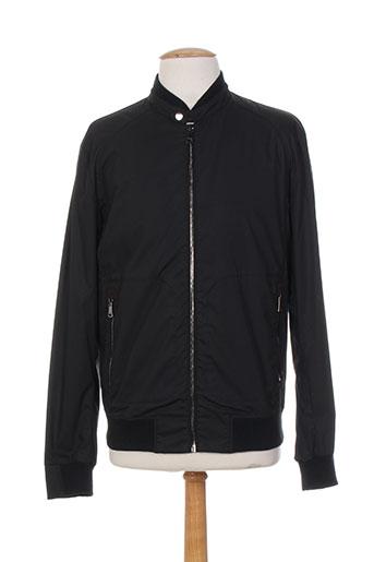 mabrun vestes homme de couleur noir