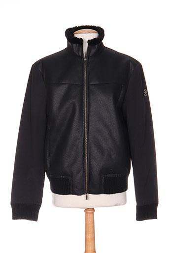 armani vestes homme de couleur noir