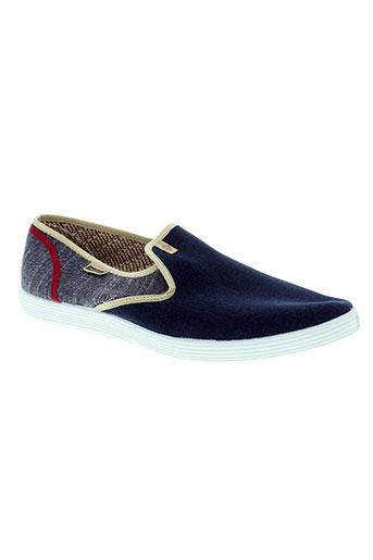 maians chaussures homme de couleur bleu