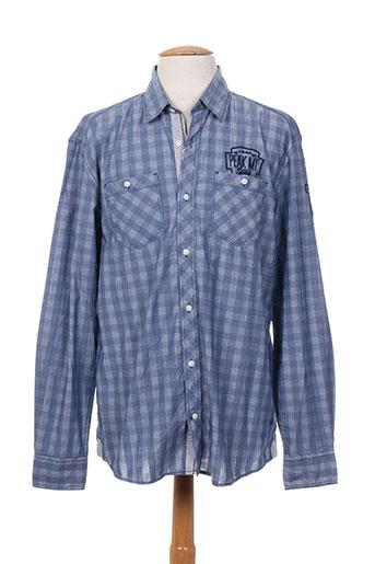 s.oliver chemises femme de couleur bleu
