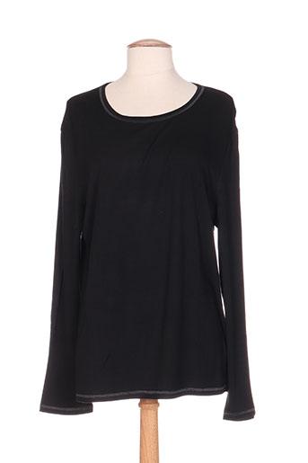 bleu de sym t-shirts / tops femme de couleur noir