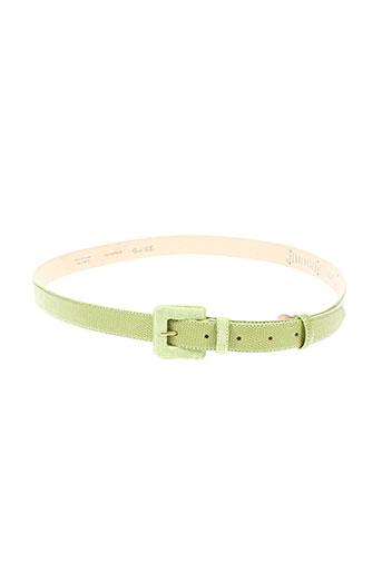 juste taille accessoires femme de couleur vert