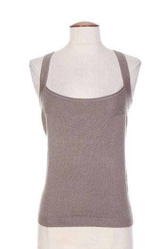 absolu t-shirts / tops femme de couleur gris