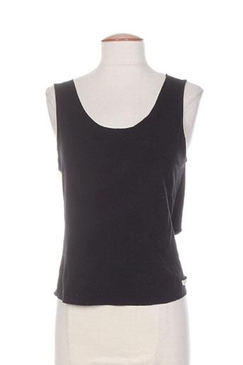 imprevu t-shirts femme de couleur noir
