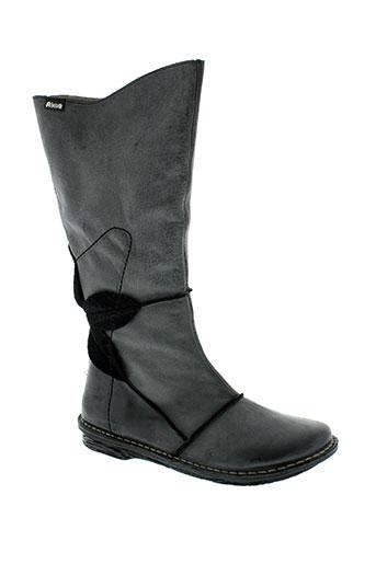 alce chaussures femme de couleur noir