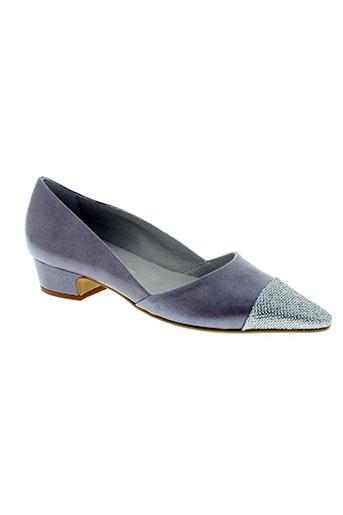 mitica chaussures femme de couleur gris