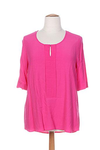 chalou chemises femme de couleur rose