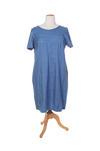 jean delfin robes femme de couleur bleu