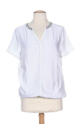 cecil chemises femme de couleur blanc