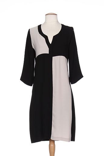 Robe mi-longue noir DRESS ADDICT pour femme