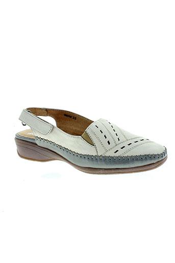 perle du sud chaussures femme de couleur beige