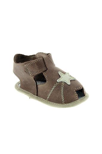 chauss'coeur chaussures garçon de couleur marron
