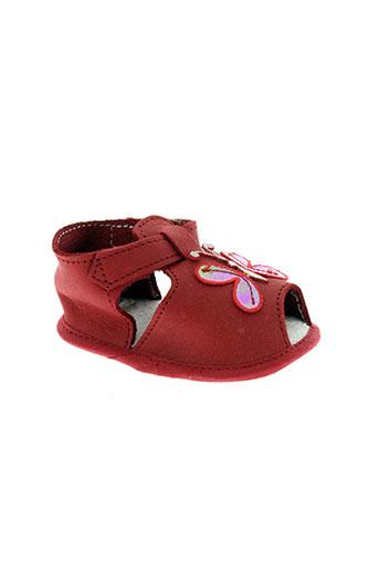 chauss'coeur chaussures fille de couleur rouge
