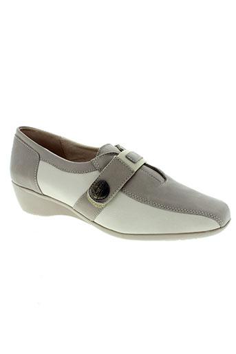 pedi girl chaussures femme de couleur beige