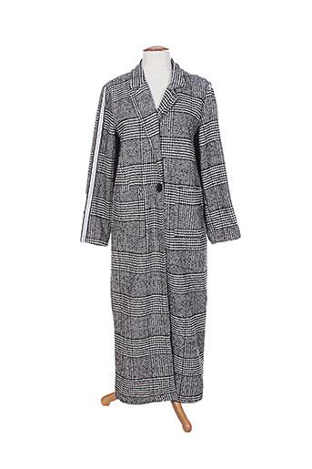 y.two manteaux femme de couleur gris