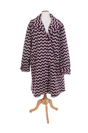 masai manteaux femme de couleur violet