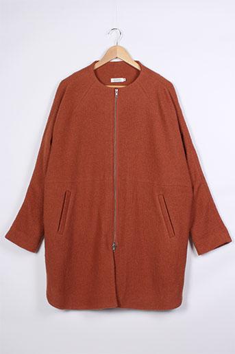 masai manteaux femme de couleur orange
