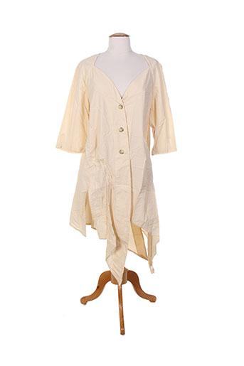 kristina tuniques femme de couleur beige