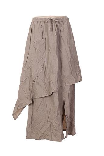 apart jupes femme de couleur beige