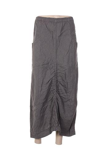 apart jupes femme de couleur gris