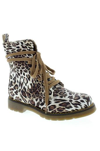 forever folie chaussures femme de couleur marron
