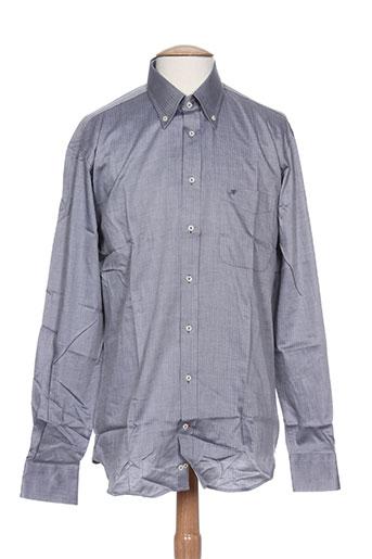 jean chatel chemises homme de couleur gris