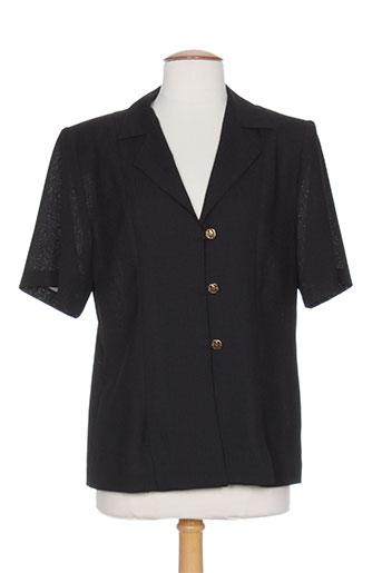 charles lorens vestes femme de couleur noir