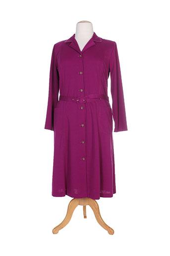 gevana robes femme de couleur violet