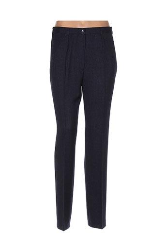 sommermann pantalons femme de couleur bleu