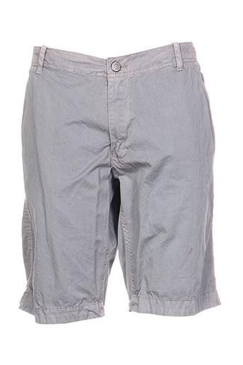 r.a.w. recycled art world shorts / bermudas homme de couleur gris