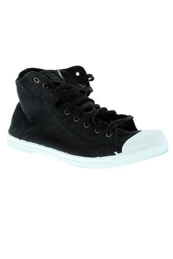 natural world chaussures unisexe de couleur noir