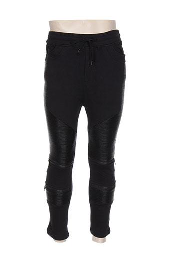 Pantalon casual noir BLACK KAVIAR pour homme