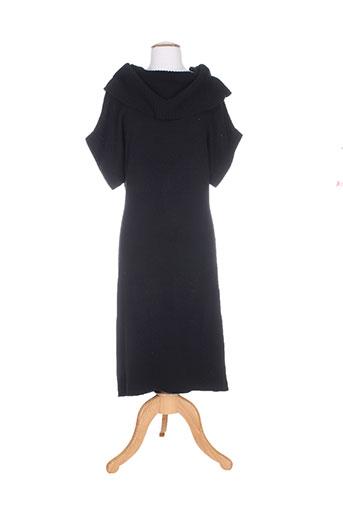 pull over robes femme de couleur noir